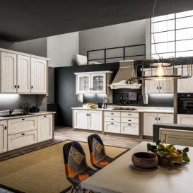 Cucina Classica su due pareti 05