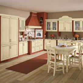 Cucina Classica su due pareti 06