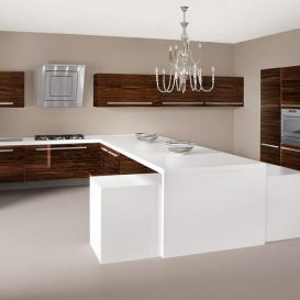 Cucina Moderna con penisola 09
